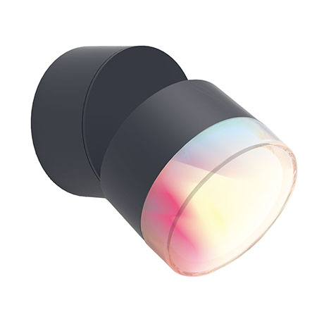 Revive Smart Outdoor Round Wall Mounted Lamp