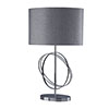 Revive Silver / Chrome Ring Table Lamp profile small image view 1