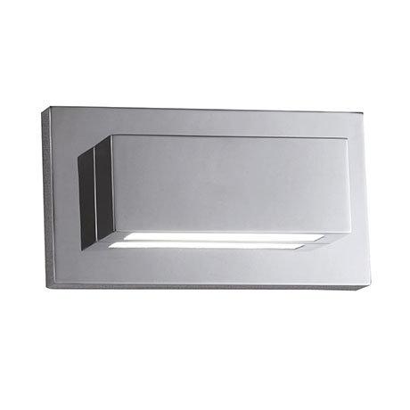 Revive LED Chrome Rectangular Up & Down Wall Light