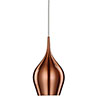 Revive Copper Pendant Light Fitting, 12cm profile small image view 1