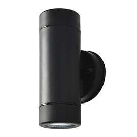 Revive Outdoor Black Up & Down Wall Light