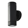 Revive Outdoor Black Up & Down Wall Light profile small image view 1
