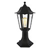 Revive Outdoor Black 6-Panel Post Lantern profile small image view 1