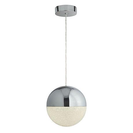 Revive Chrome Sphere LED Pendant Light