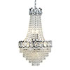 Revive Chrome Crystal Chandelier - 6 Light profile small image view 1