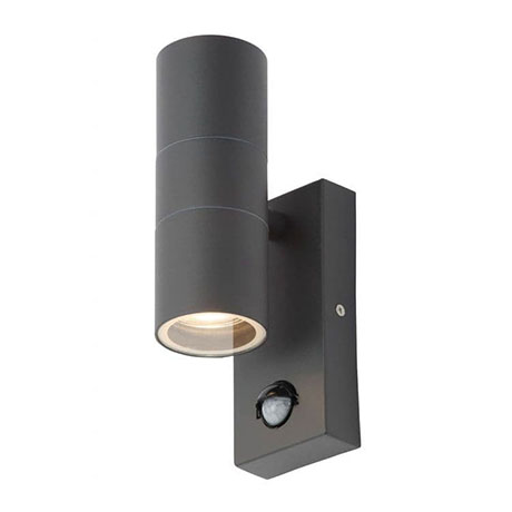 Revive Outdoor Anthracite PIR Up & Down Wall Light