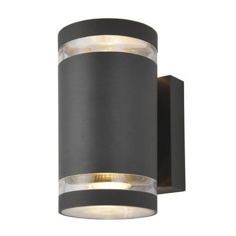 Revive Outdoor Anthracite Up & Down Wall Light