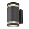 Revive Outdoor Anthracite Up & Down Wall Light profile small image view 1