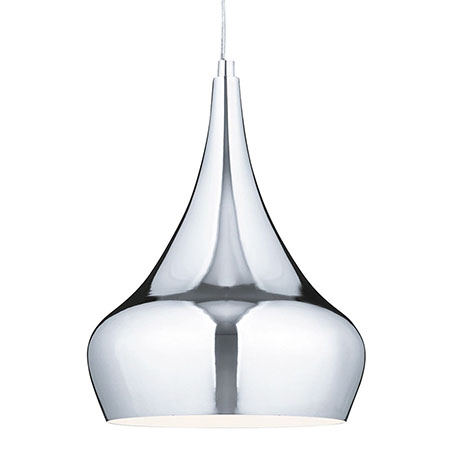 Revive Chrome Droplet Pendant Light