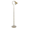 Revive Brass Flexi Neck Floor Lamp profile small image view 1
