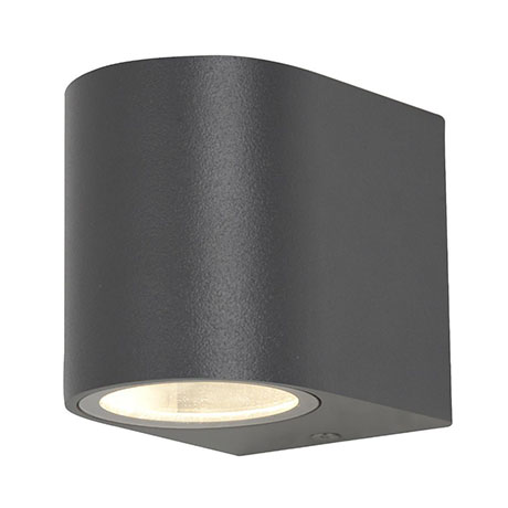 Revive Outdoor Black Up or Down Wall Light