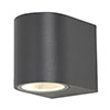 Revive Outdoor Black Wall Light profile small image view 1