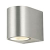 Revive Outdoor Chrome Wall Light profile small image view 1