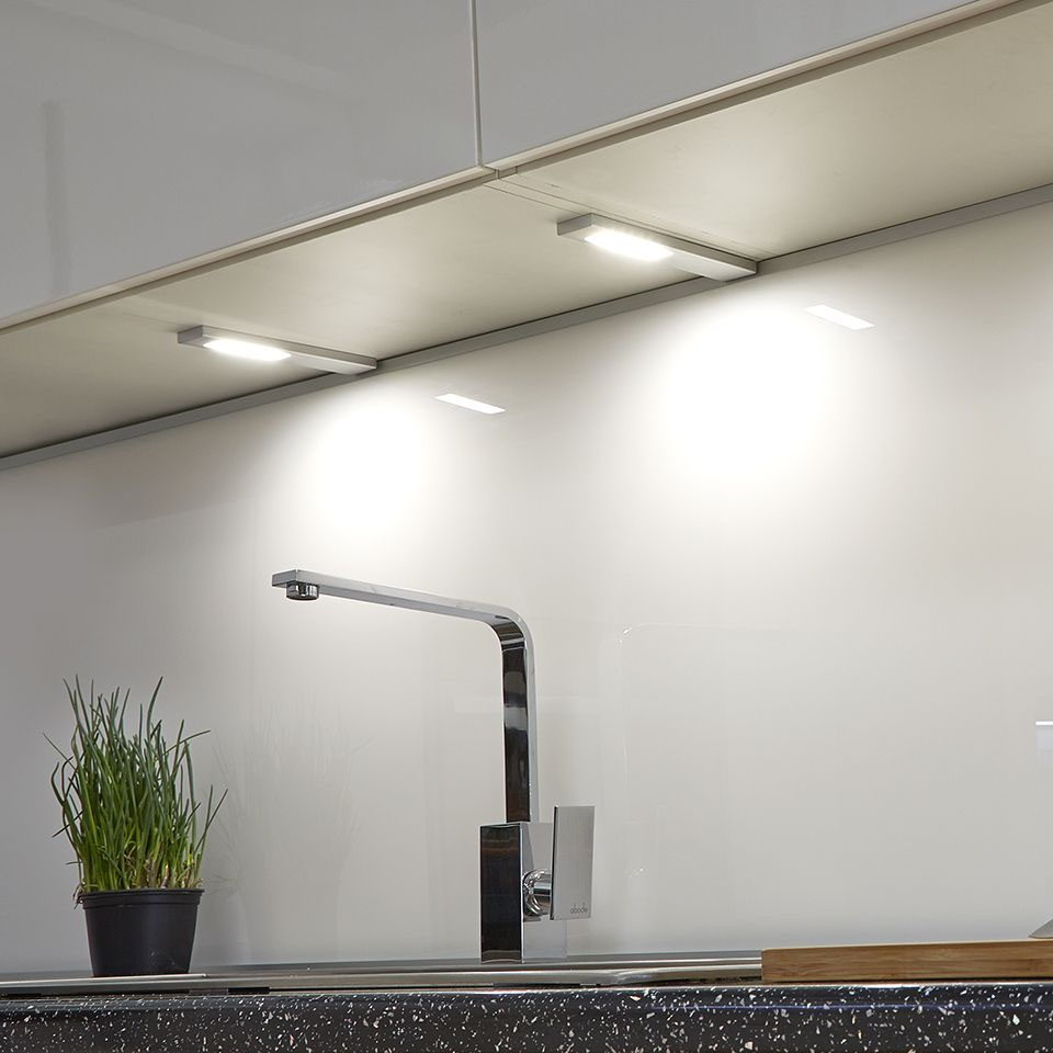 Revive Stainless Steel Rectangular Under Cabinet Light