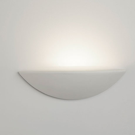 Revive 40cm Paintable Ceramic Wall Light
