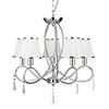 Revive Chrome Ceiling Light - 5 Lights profile small image view 1