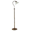 Revive Retro Floor Lamp with Adjustable Marble Glass Shade profile small image view 1