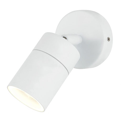 Revive Outdoor White Adjustable Wall Light