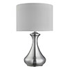 Revive Silver Bedside Touch Lamp profile small image view 1