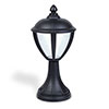 Revive Outdoor Matt Black LED Pedestal Lantern profile small image view 1