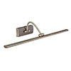 Revive Antique Brass LED Picture Light - 81 Lights profile small image view 1