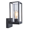 Revive Outdoor Matt Black Frame Wall Light profile small image view 1