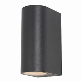 Revive Black Outdoor Up & Down Light