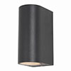 Revive Black Outdoor Up & Down Light profile small image view 1