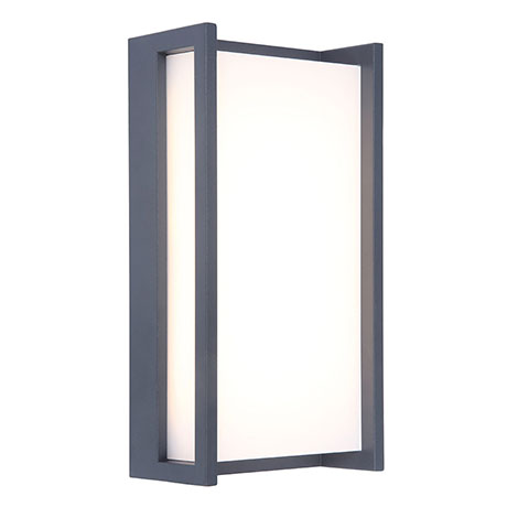 Revive Outdoor Square Anthracite Wall Light