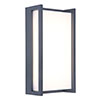 Revive Outdoor Square Anthracite Wall Light profile small image view 1