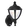 Revive Outdoor PIR Matt Black LED Up Lantern profile small image view 1
