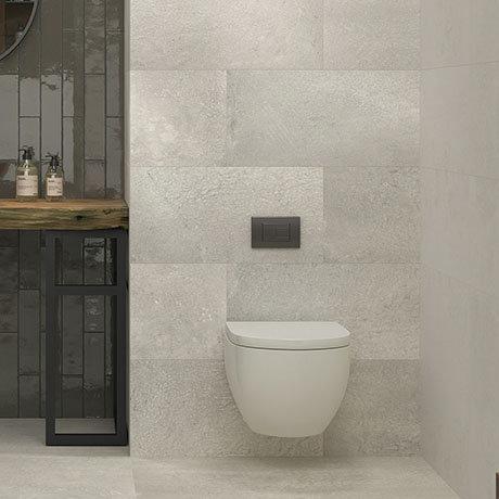 Riverton Grey Wall and Floor Tiles - 300 x 600mm