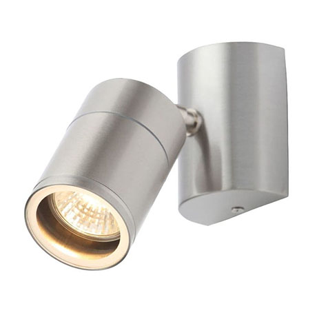 Revive Outdoor Stainless Steel Wall Spotlight