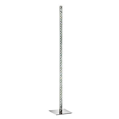 Revive 145cm Column Crystal Glass Floor Lamp