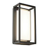 Revive Outdoor Box Wall Light profile small image view 1