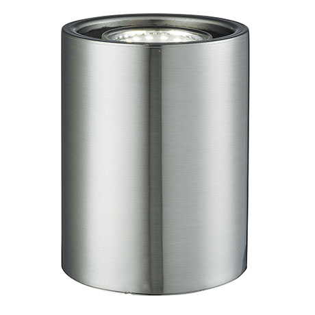 Revive Satin Silver Uplighter Table Lamp
