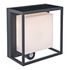 Revive Outdoor Solar PIR Wall Light (W95 x L165 x H190mm) profile small image view 1