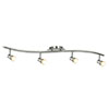 Revive Silver Spotlight Bar Ceiling Light - 4 Light profile small image view 1