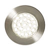 Revive Round LED Recessed Under Cabinet Light Satin Nickel profile small image view 1