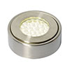 Revive Round LED Under Cabinet Light Satin Nickel profile small image view 1