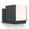 Revive Outdoor Rotatable Dark Grey Wall Light profile small image view 1