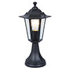 Revive Outdoor Traditional Black Pedestal Lantern profile small image view 1