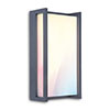 Revive Smart Outdoor Square Dark Grey Wall Light profile small image view 1