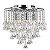 Revive Flush Crystal Chandelier - 4 Light profile small image view 1