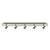 Revive Satin Silver Ceiling Spotlight Bar - 5 Light profile small image view 1