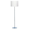 Revive White Minimalist Floor Lamp profile small image view 1