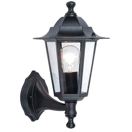 Revive Outdoor Traditional Black Up Lantern