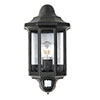 Revive Outdoor Traditional PIR Black Half Coach Lantern profile small image view 1