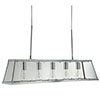 Revive Chrome Lantern Bar Ceiling Light - 5 Light profile small image view 1