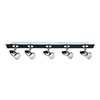 Revive Black Spotlight Ceiling Light - 5 Light profile small image view 1